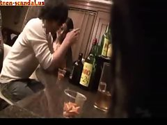 Cute Japanese fuck in the wine bar(teen-scandal.us)