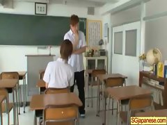 Asian In School Uniform Get Hard Sex video-27