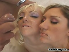 Lacey Maguire and her hot friend wants to suck and lick each other off