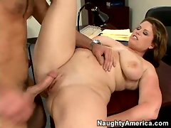 Lisa Sparxxx gets her hot pink pussy fucked deep and hard in scorching scene.