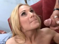 Tyler Faith is a hot babe who loves taking in the biggest cock in her mouth