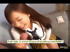Maria and Yuka Chinese lesbians licking and fingering
