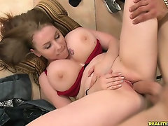 Desiree in Big Naturals: Sleeping Boobie