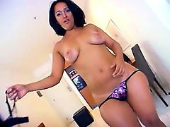 Latina bubble butt smashed by black dick!