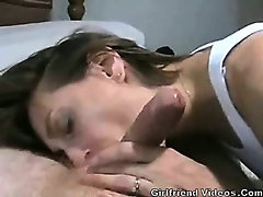 Wife Blowjob & Cum On Face