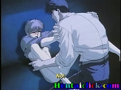 Little anime gay sucked and seduced