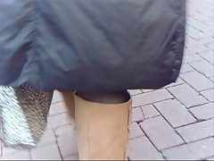 Pandora&amp,#039,s upskirt big clit and lips in public Tamworth