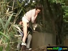 Outdoor Sexy Teen Asian Get Nailed video-04