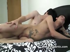Gay twinks Alex Harler and Tantrum Desire do sixty-nine and bang ass