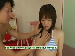 Shoko Yokoy innocent lovely asian girl is teasing