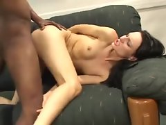 Skinny German slut is crazy for BBC in the ass