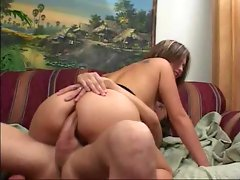 Watch a cock ram her big beautiful ass