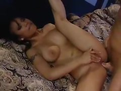 A fat dick fucking a hot girl with curves