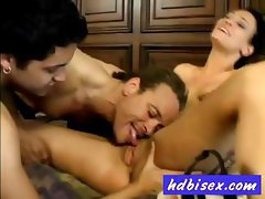 Desire seduced two bisexual guys