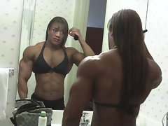 muscle in the mirror