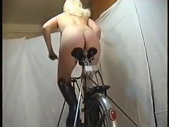 Bicycle  fucking  Pussy
