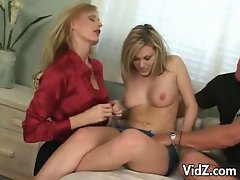 Horny momma teacher nasty daughter some how to fuck lessons