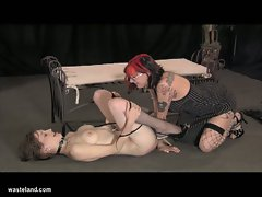 Mistress bella vendetta and hot betty sizzling hot lesbian fun