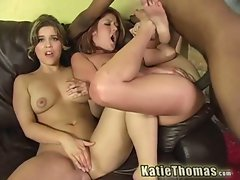 Trisha rey and katie thomas loves fucking big hard cocks