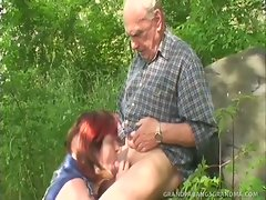 Now this is one incredible set of mature tits!  Redhead granny Ivana...