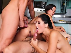 The cumshot compilation from the Swingers Orgies #2 DVD !...