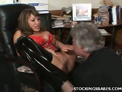 It's no secret that Ava Devine here is a total slut and she sure does...