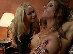 Ariel X is suffer electrosex and BDSM and is punished for her...
