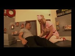 Krissy Lynn fucked in the adult video shop - LC06