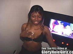 Ebony Girl Gets A Strangers Creampie In Tampa Gloryhole