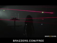 Brazzers - Sexy brunette British spy Stacy Lacey is fucked