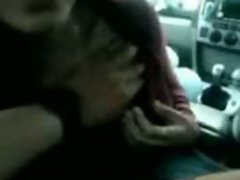 Malay Handjob Inside The Car