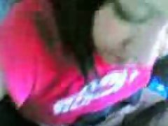 arabic blowjob and showing body in the car