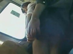 UNCENSORED Asian train grope - 2 of 15