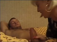 Blond French Mama Wants It In The Butt