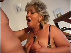 Sensual Mum n100 blond aged thick with a 18yo man