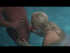 English Bitch Syren Sexton gets grinded at the swimming pool