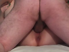 banging my dirty wife on her back