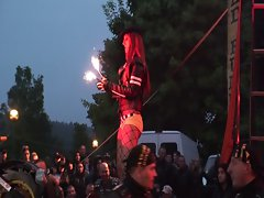 Striptice show - Rough Core Party, S-K Poland 2011