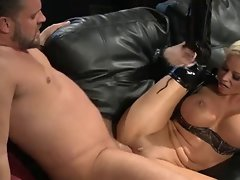 Nikita Von James dresses for sex