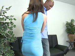 Kierra Interracial blue dress