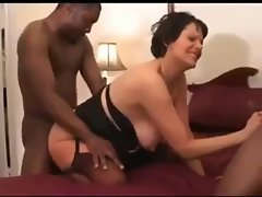 Black bred pregnant better half taking some more creampies