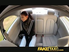 FakeTaxi 19 years old student screws for cash on her journey