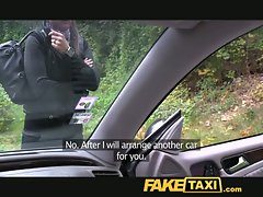 FakeTaxi Splendid blondie falls for my out of gas trick