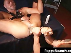 Extreme gay dirty stunning anal banging S&M part3