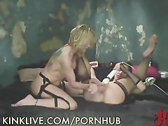 Filthy Lez Housewives Fuck On Cam