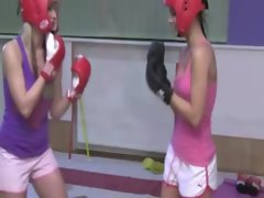 Two kickboxing teenagers attack their coach