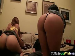 College Vixens Lasses Luxuriate Group Sex video-06