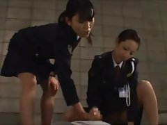 Asian prison guards get kinky with a detainee