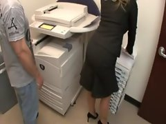 Aline bigbutt in copy room anus puma
