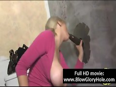 GloryHole - Sensual Top heavy Slutty chicks Love Licking Penis 21